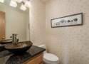 Bathroom #2: Powder Room Upstairs