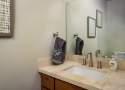 Bathroom #2: Powder Room off Living Area