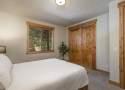 Bedroom #2: Queen Bed, Downstairs