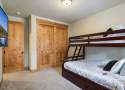 Bedroom #3: Bunk with Full on Bottom and Twin Up Top