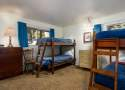 Bedroom #3: Two Sets of Bunk Beds