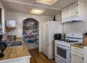Galley Style Kitchen with Gas Oven