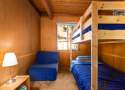 Bedroom #2: Twin Bunk Bed and Fold Out