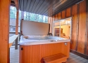 Hot Tub at Lower Rear Deck