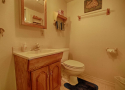3/4 Bath with shower on entry level