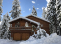 Cabin in the snow!