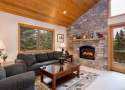 Gas Fireplace in Living Area