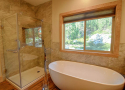 Bathroom #2: Master Bath with Soaking Tub