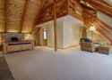 Master Bedroom with Office Loft Area