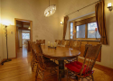 Formal Dining Area into Kitchen