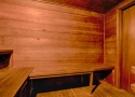 Club house dry sauna
