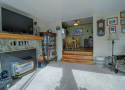 Living Room & Gas Stove